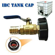 """IBC Adapter mit 3/4"""" Auslaufhahn Regenwasser 1000 Liter Container Tank Industrie"""