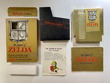 The Legend of Zelda (NES, 1987) Non Rev-A Imprint, Circle seal, CIB