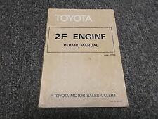 1983 Toyota Land Cruiser FJ40 FJ45 FJ60 2F Engine Service Repair Manual 1984