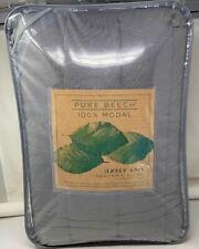 Pure Beech Jersey Twin/Twin Xl Comforter Set in Charcoal Grey