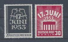 Berlin 110/11 postfrisch / 17. Juni (5600) .....................................