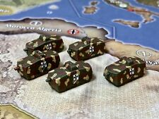 Axis And Allies Painted Pieces German A7V Tank |Axis And Allies 1914
