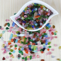 20pcs Sea Beach Glass Beads Mixed Colors Jewelry Vase Pendant Decoration 10-16mm