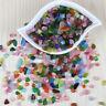 20pcs Sea Beach Glass Beads Mixed Colors Jewelry Vase Pendant Decoration 10-16mm