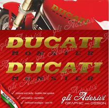 Coppia Adesivi DUCATI MONSTER old varii colori M 900 600 750 Special Color