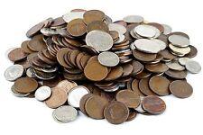 MIXED BULK DUTCH NETHERLANDS COINS LOT OF 100 CENTS GULDEN PERIOD 1949-2001