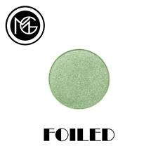 Makeup Geek Foiled Eye Shadow Pan - FANTASY - frosty mint green