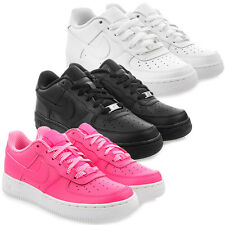 Neu Schuhe NIKE AIR FORCE 1 GS Damen Low Top Sneaker  Turnschuhe Leder Freizeit