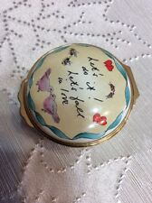 Halcyon Days Enamel Box Let's do it! Let's fall in love Word Music By Cole Port