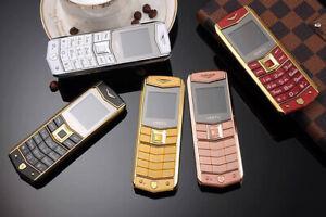 VERTU A8 Mini Feature Phone 2G Mobile Brand New RRP £199