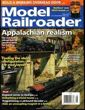 Model Railroader Magazine May 2018 Appalachian realism, build an overhead door