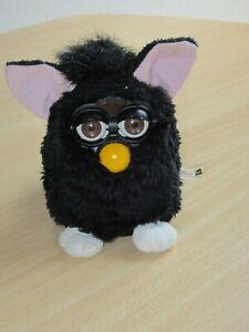 """schwarzer """"Hexenkatze""""- Furby der 1. Generation von 1998"""