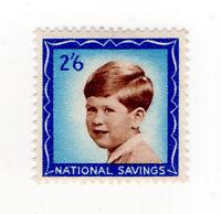 (I.B) Cinderella Collection : National Savings - Prince Charles 2/6d (1953)