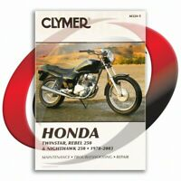 1980-1982 Honda CM200T Repair Manual Clymer M324-5 Service Shop Garage