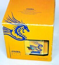 Marina Beta Fish Kit Aquarium 2 L 1/2 Gal Plastic Tank Blue Water Dragon Themed