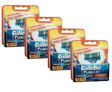 48x Gillette Fusion ProGlide Power / 48er razor blades 4x 12er Gilette Gillete