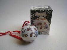 Hutschenreuther Weihnachtskugel KUGEL 1992 mit Karton OVP Zirkus