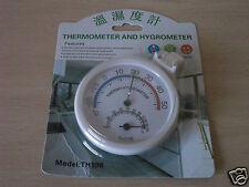 Termómetro analógico dual -20ºc+50ºc #  0%-100% hr