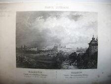 POLONIA,CRACOVIA, acciaio originale meta' XIX secolo,KRACOW