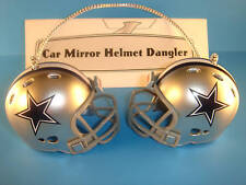 DALLAS COWBOYS CAR MIRROR NFL FOOTBALL HELMET DANGLER - HANG FROM ANYTHING!