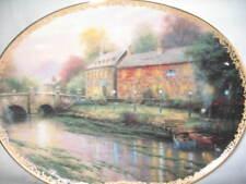 Thomas Kinkade Collectible Plate Lamplight Inn #3 New