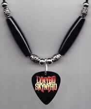 Lynyrd Skynyrd Black Guitar Pick Necklace #2