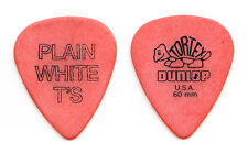 Plain White T's Tim Lopez Orange Guitar Pick - 2014 Tour