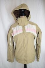 Columbia convert base trx womens jacket snowboard ski lined hooded coat sz S