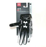 Under Armour UA F6 Youth Glue Grip YSM Football Gloves 1304695 001 New