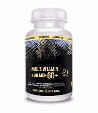 Actif Organic Multivitamin for Men Age 60+ with 30 Vitamins and Organic Herbs