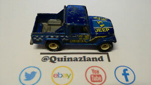 Hot Wheels Jeep Scrambler real riders jantes blanches (CL22)