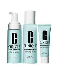 New Clinique Acne Solutions Clear Skin Kit 3-step Cleanser,Toner, Moisturizer