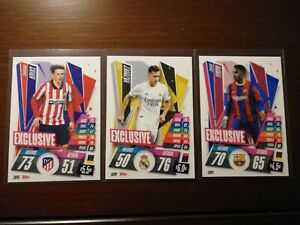 2020-21 Match Attax Exclusive Champions League - Firpo - Vazquez - Arias