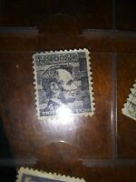 Abraham Lincoln 4 Cent Black Stamp | Used