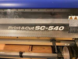 Roland SolJet II SC-540 Wide Format Printer /print + cut