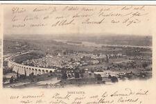 SAINT-SATUR vue générale timbrée 1902