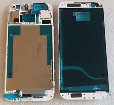 LCD marco Bezel frame carcasa cáscara cover housing display blanco para HTC One m8