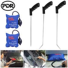 PDR Rod Paintless Dent Repair Hail Removal Tools Window Door Open Pry Pump Wedge