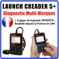 LAUNCH Creader 5+ Tech Codetech OBD II Lecteurs Code EOBD Scanner Diagnostiques