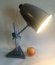 A Vintage Laboratory / Heavy gauge Anglepoise Table Lamp, Mid century Industrial