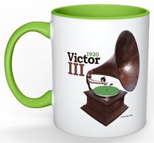 "Spin Alley ""The Icons"" Victor III Phonograph Coffee Mug"