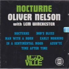 Nocturne by Oliver Nelson (CD, 1992, Original Jazz Classics) NEW / FREE SHIPPING