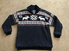 KAMA Gore Windstopper Teflon Wool SKI Sweater men's Sz XL