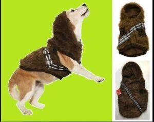 Petco Star Wars Chewbacca Costume XL Dog Hoodie Coat NEW Extra Large Chewie Hood