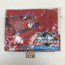 VINTAGE RETRO GEN 1 G1 TRANSFORMERS SCHOOL IPAD SHOULDER BAG 1987 FRANKEL & ROTH