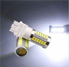 2PC White 3157 33SMD LED Ultra Bright Tail Light Bulb For Dodge Nitro 2010-2011