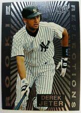 1997 Fleer Ultra Rookie Reflections Derek Jeter #5, Insert, New York Yankees
