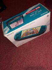 PSP-3000 3003 Entertainment Pack Vibrant Blue Handheld System