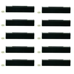 10x New Laptop Hard Drive Disk Caddy Cover with Screws for Dell Latitude E6510