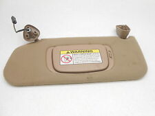 New OEM Sun Visor 1998-2001 Continental With Homelink Left Tan